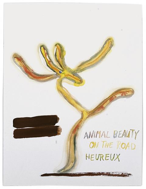 Alain Huck, Heureux (Animal Beauty), 2001