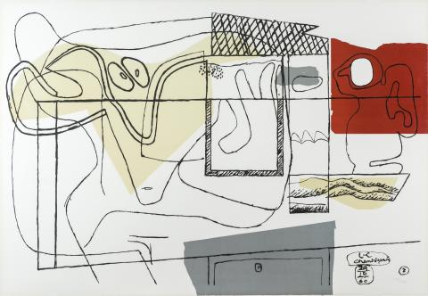 Le Corbusier, Magic, Magique, s.d.