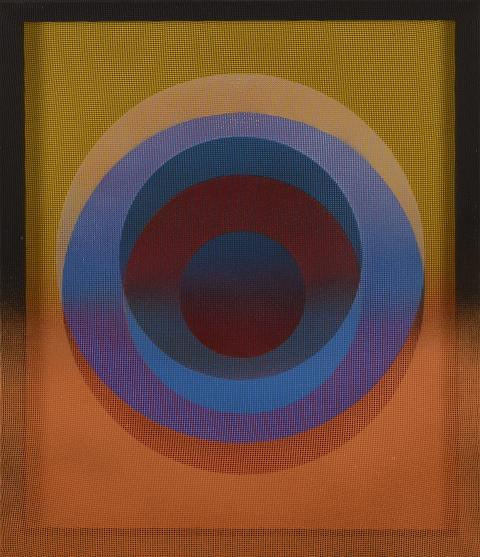 Xanti Schawinsky, Untitled (Sphera), 1975