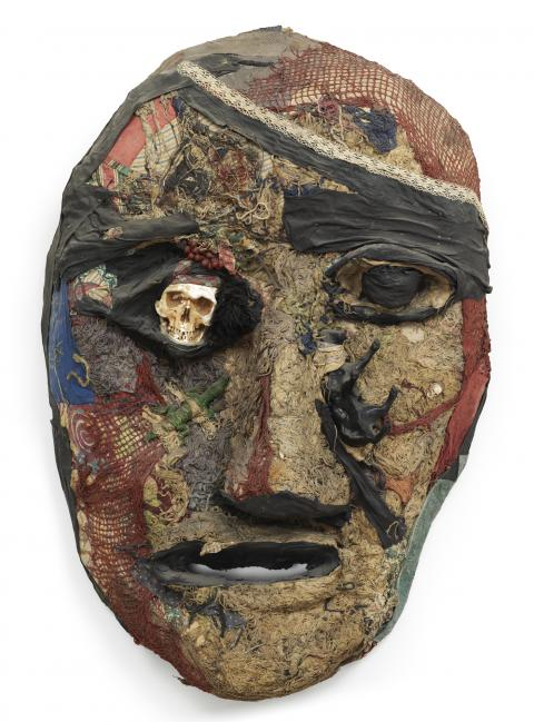 Niki de Saint Phalle, Le Capitaine Hook (Le pirate/Tête), 1964