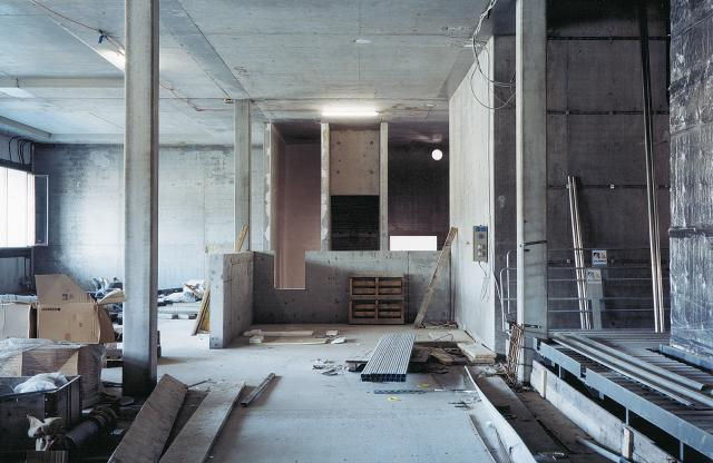 Claudio Moser, Construction Pictet , 2006