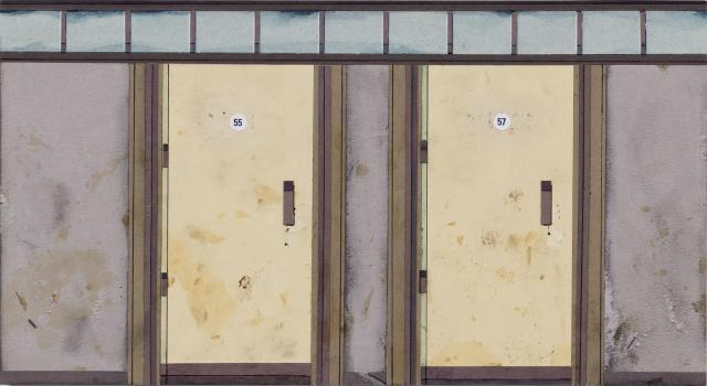 Alan Schmalz, Doors (Yet to be Titled) 3, 2018