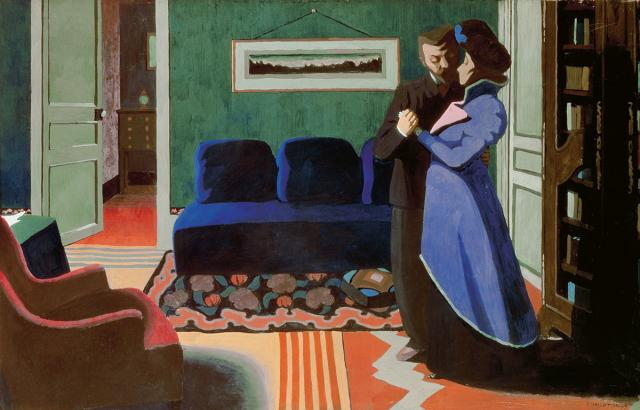 félix vallotton the visit